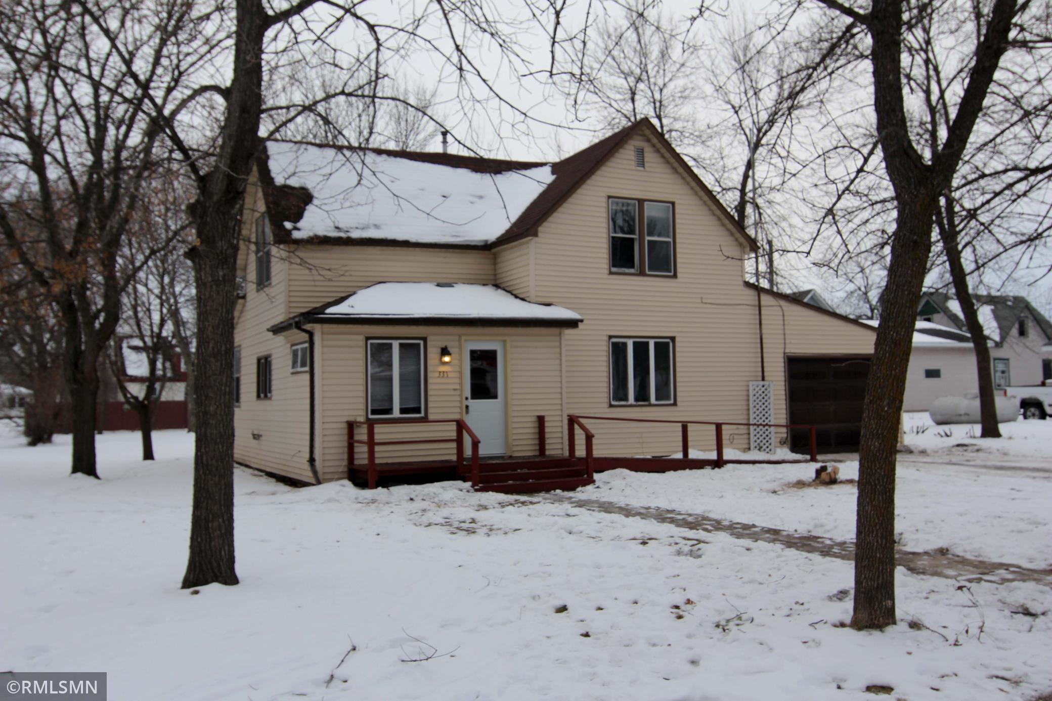 331 Pleasant Avenue S Property Photo - Brooten, MN real estate listing