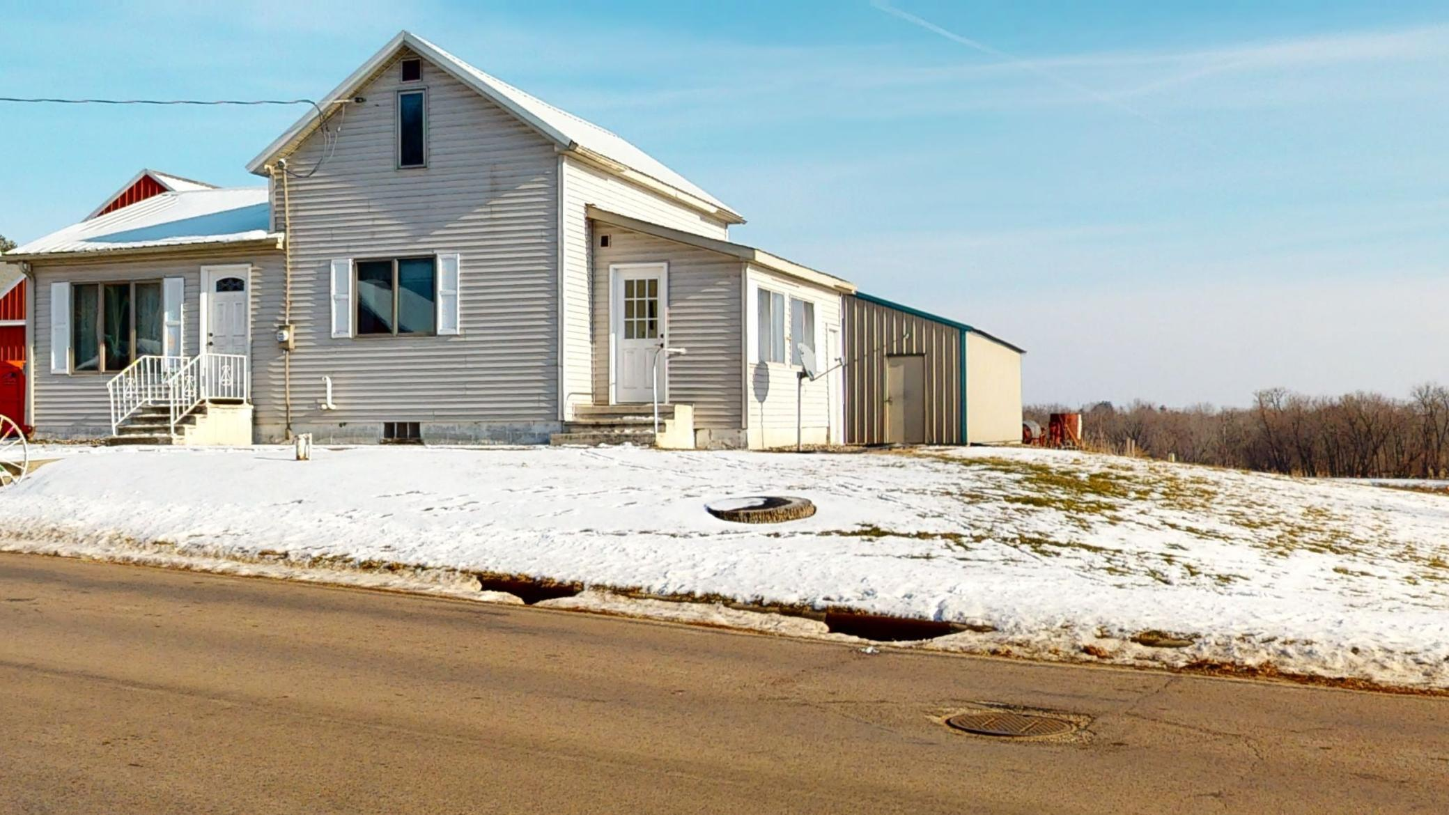 S3554 County Road P Property Photo - Buffalo Twp, WI real estate listing
