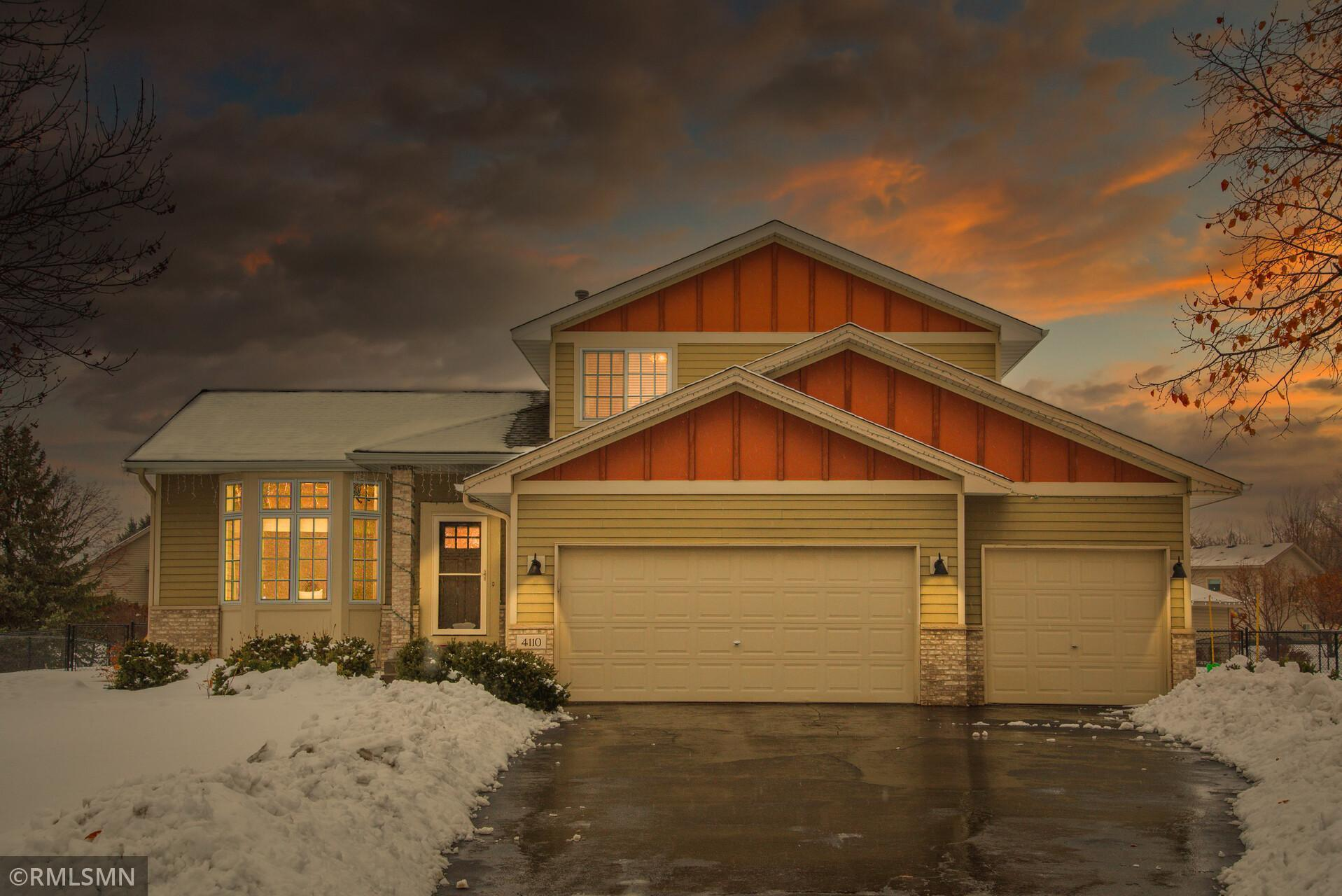 4110 Sunset Terrace N Property Photo - Brooklyn Park, MN real estate listing