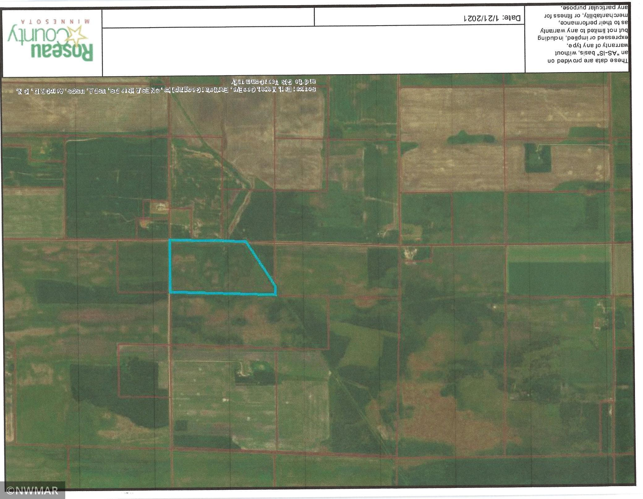 TBD 330th Street Property Photo - Badger, MN real estate listing