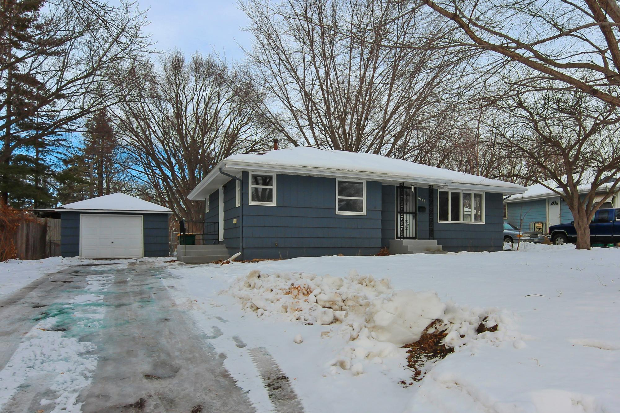 6408 34th Avenue N Property Photo - Crystal, MN real estate listing