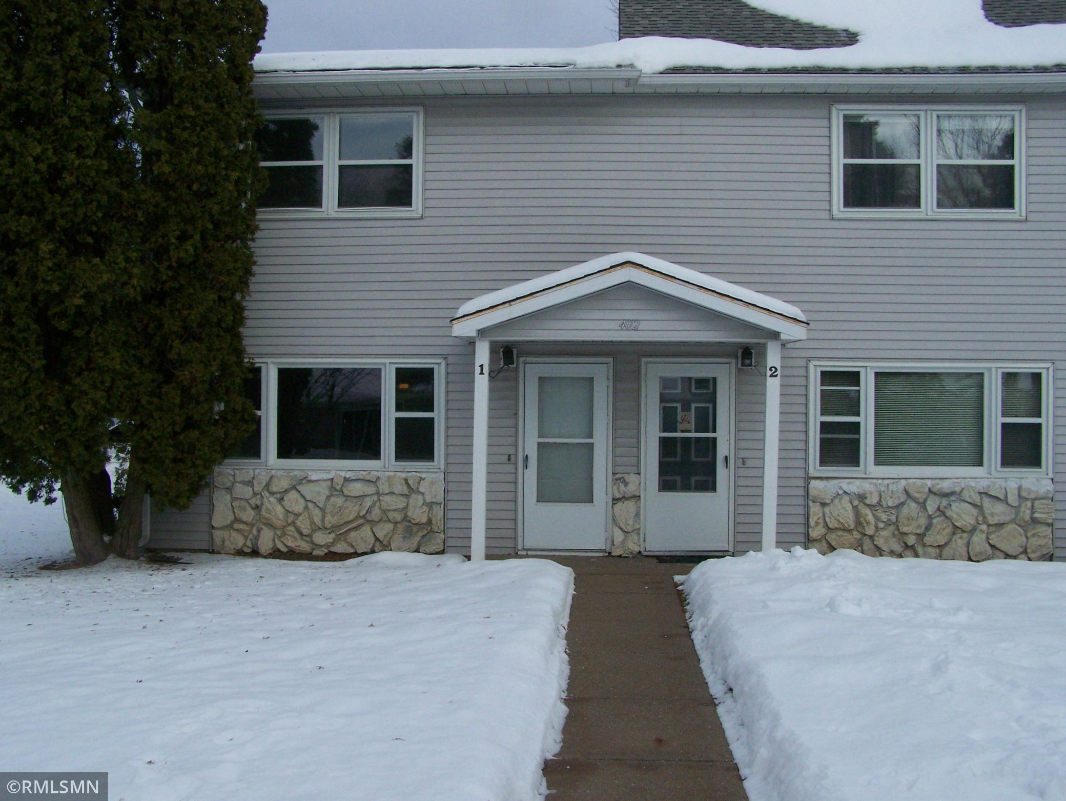 402 7th Street #1 Property Photo - Centuria, WI real estate listing