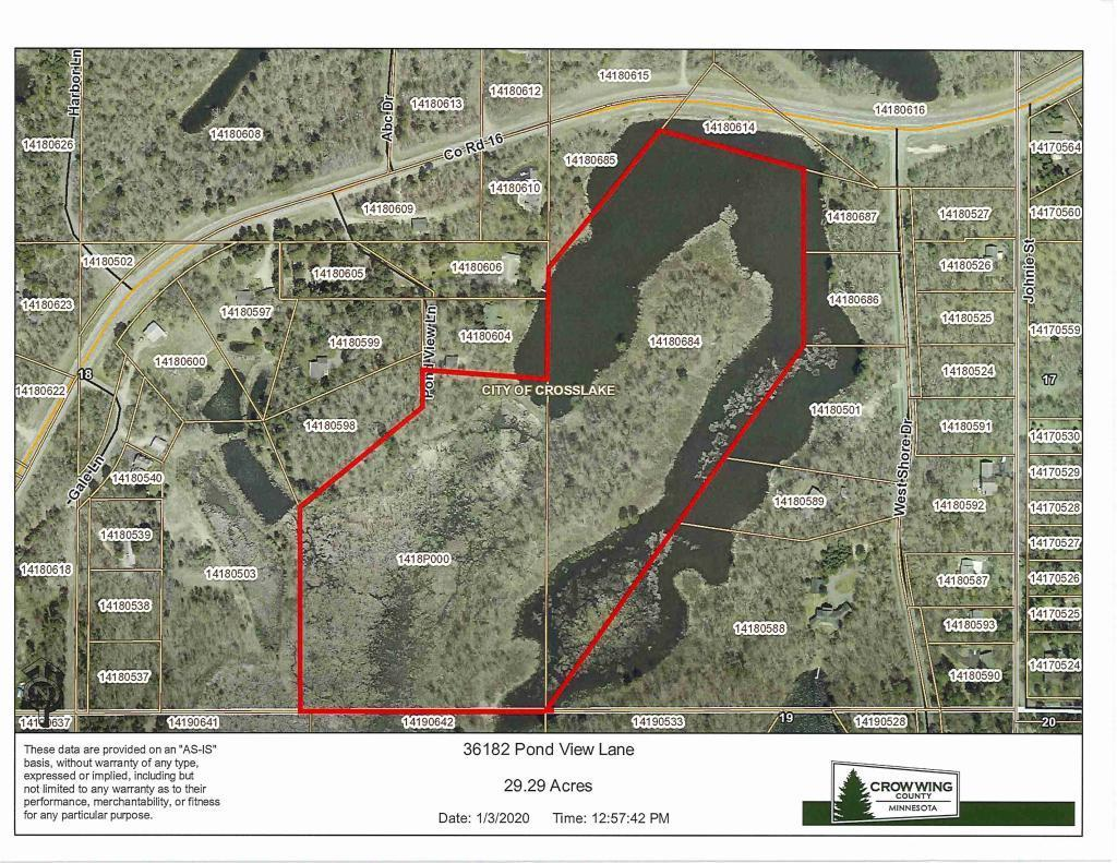 36182 Pond View Lane Property Photo - Crosslake, MN real estate listing
