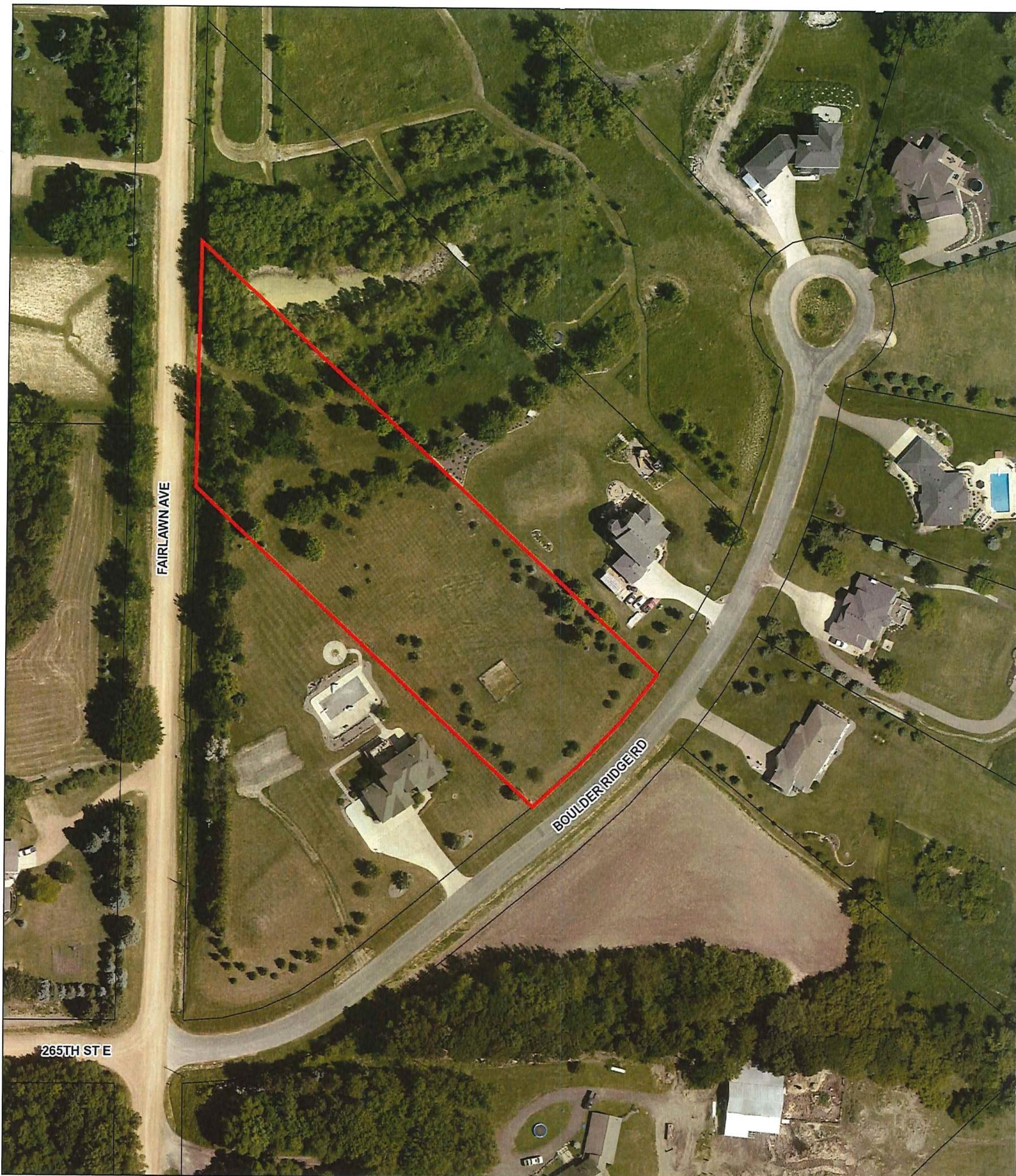 Lot 2 Blk 1 Boulder Ridge Road Property Photo - Webster, MN real estate listing