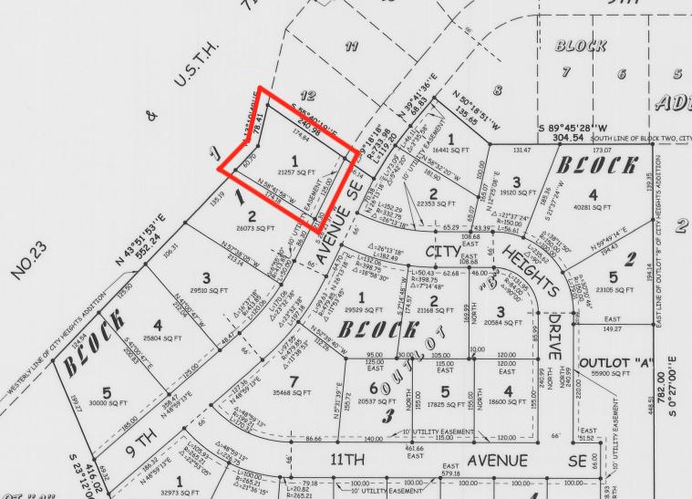Lot 1 Blk 1 9th Avenue Se Property Photo