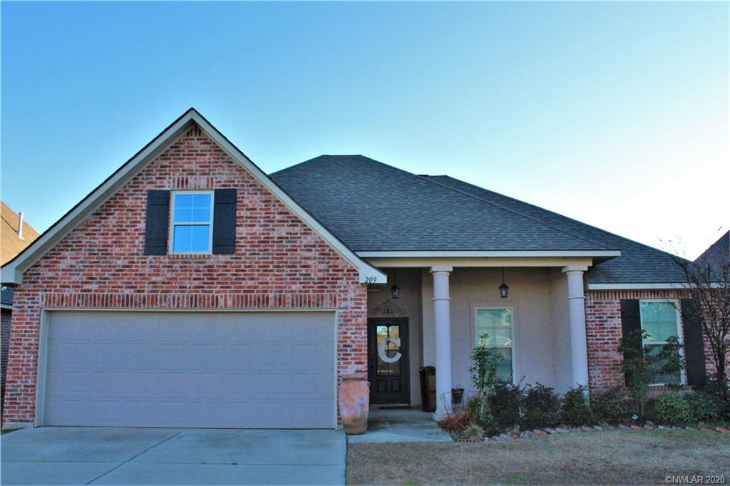 209 Apalachee Way, Bossier City, LA 71111 - Bossier City, LA real estate listing