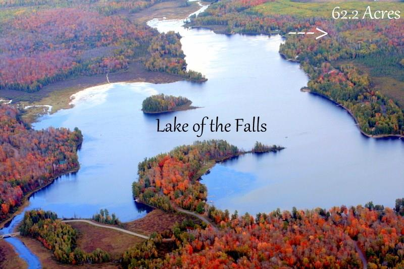 62 acres Lake of the Falls Road Property Photo - Mercer, WI real estate listing