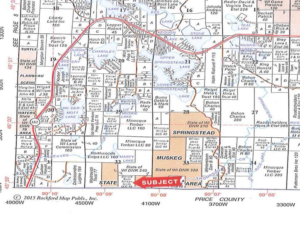 0 No Access, Park Falls, WI 54552 - Park Falls, WI real estate listing
