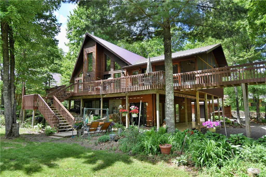 N7572 Wood Drive, Trego, WI 54888 - Trego, WI real estate listing
