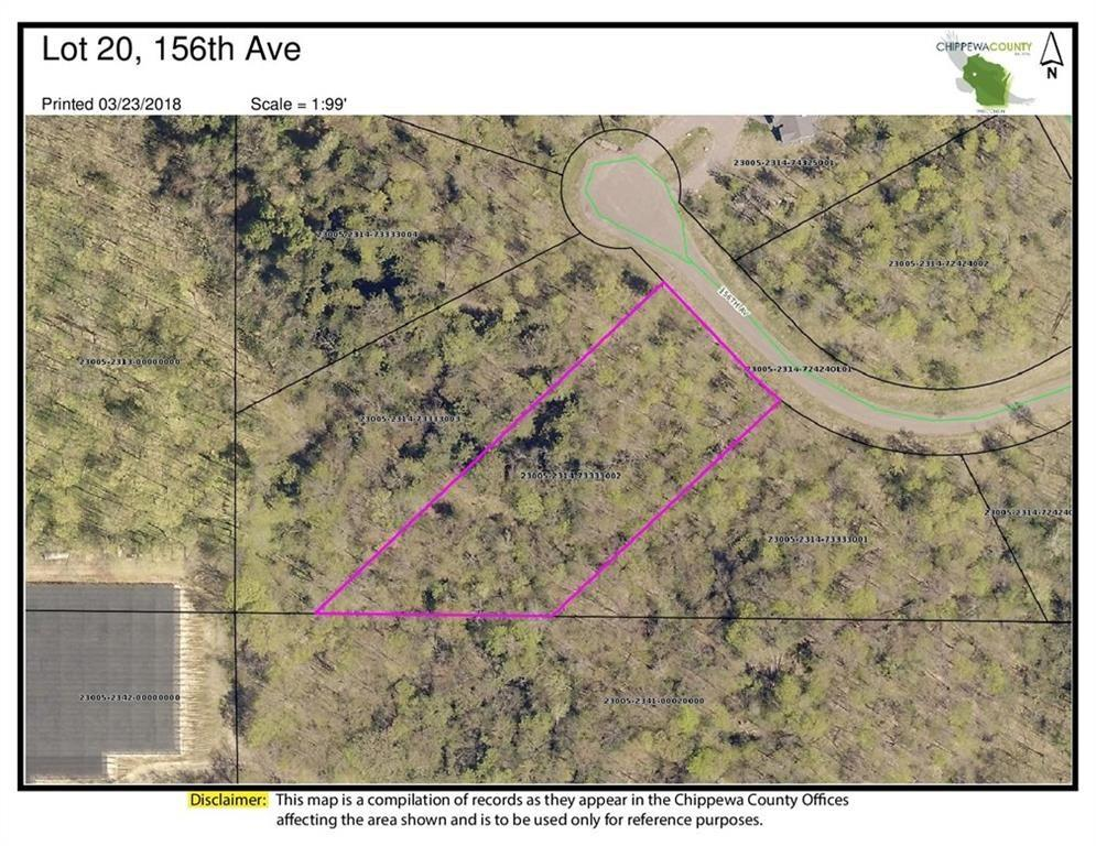 Lot 20 156th Avenue Property Photo - Stanley, WI real estate listing