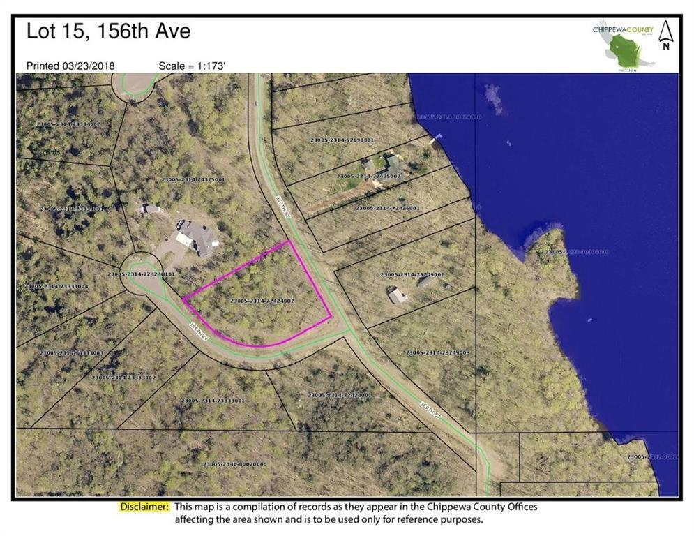 Lot 15 156th Avenue Property Photo - Stanley, WI real estate listing