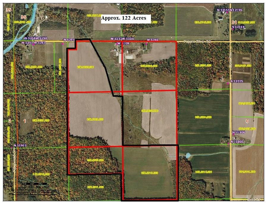 W5109 Popple River Road Property Photo - Owen, WI real estate listing
