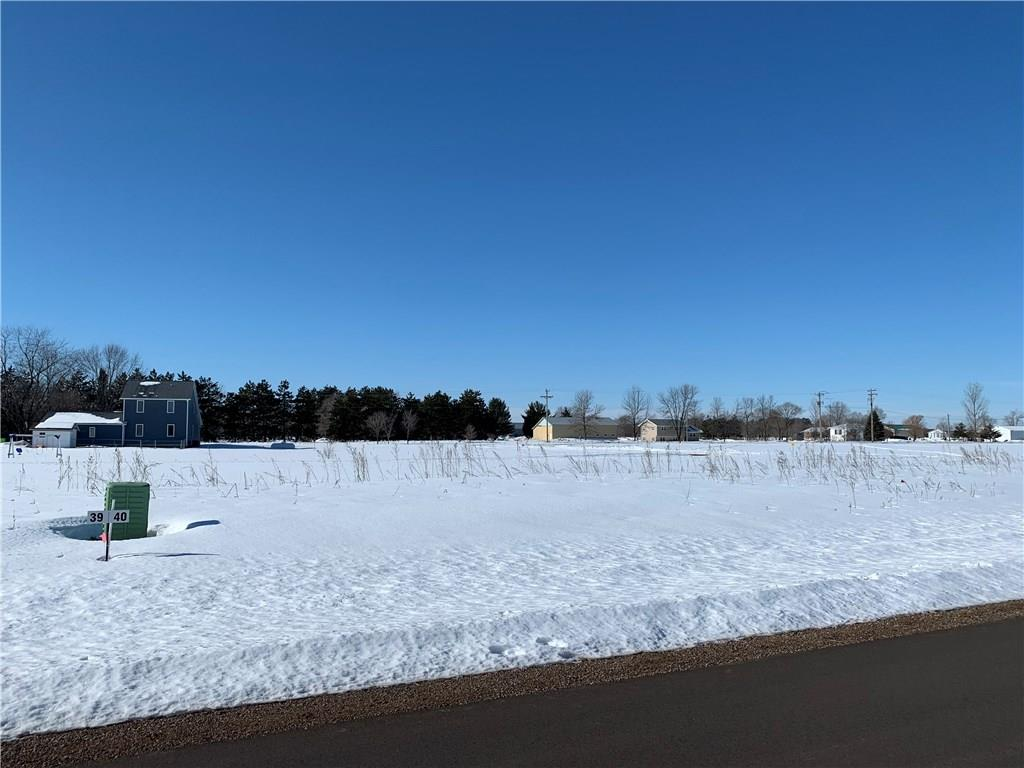 Lot 40 201st Street Property Photo - Chippewa Falls, WI real estate listing