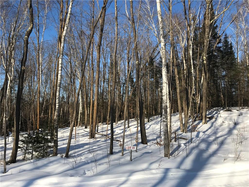 Lot 20 Birken Trail Road Property Photo - Hayward, WI real estate listing