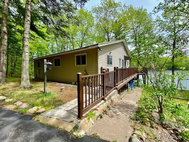 12387 W Bag-Waki Drive Property Photo - Couderay, WI real estate listing