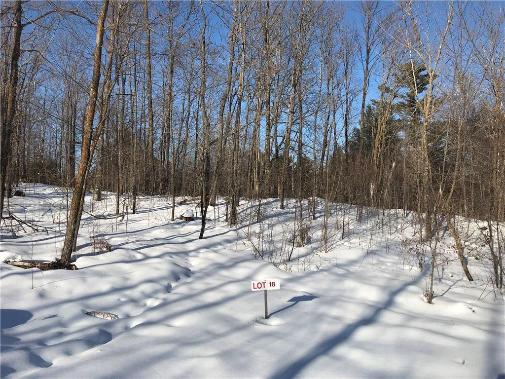 Lot 18 Birken Trail Road Property Photo - Hayward, WI real estate listing