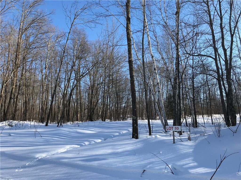 Lot 33 Birken Trail Road Property Photo - Hayward, WI real estate listing