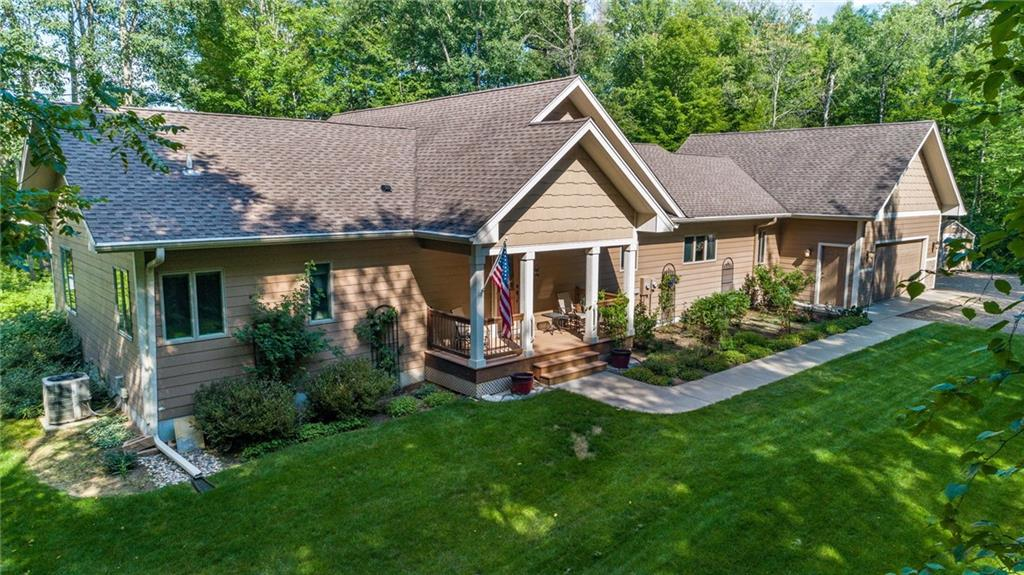2010 N Ripley Shore Drive Property Photo - Sarona, WI real estate listing