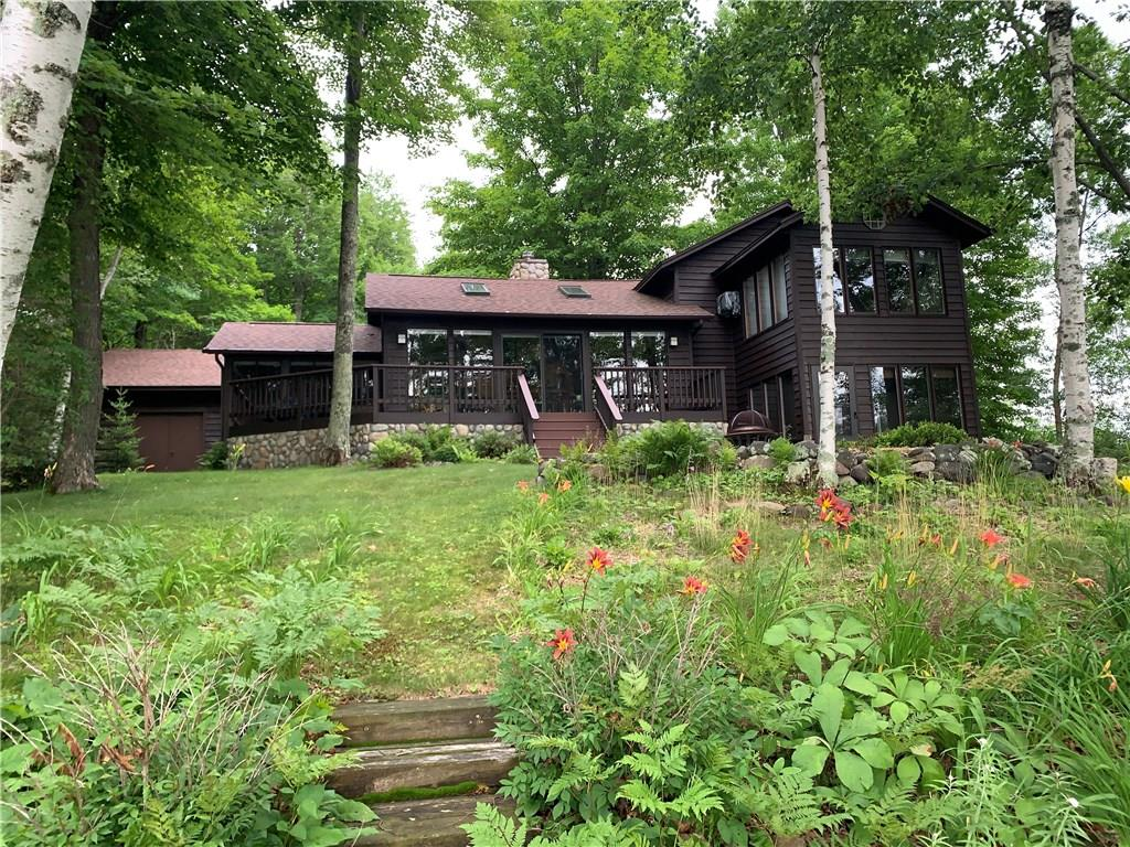 16110 W Musky Point Drive Property Photo - Stone Lake, WI real estate listing