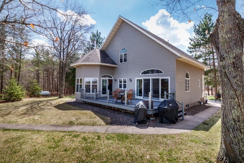 N8226 Baker Lane Property Photo - Trego, WI real estate listing