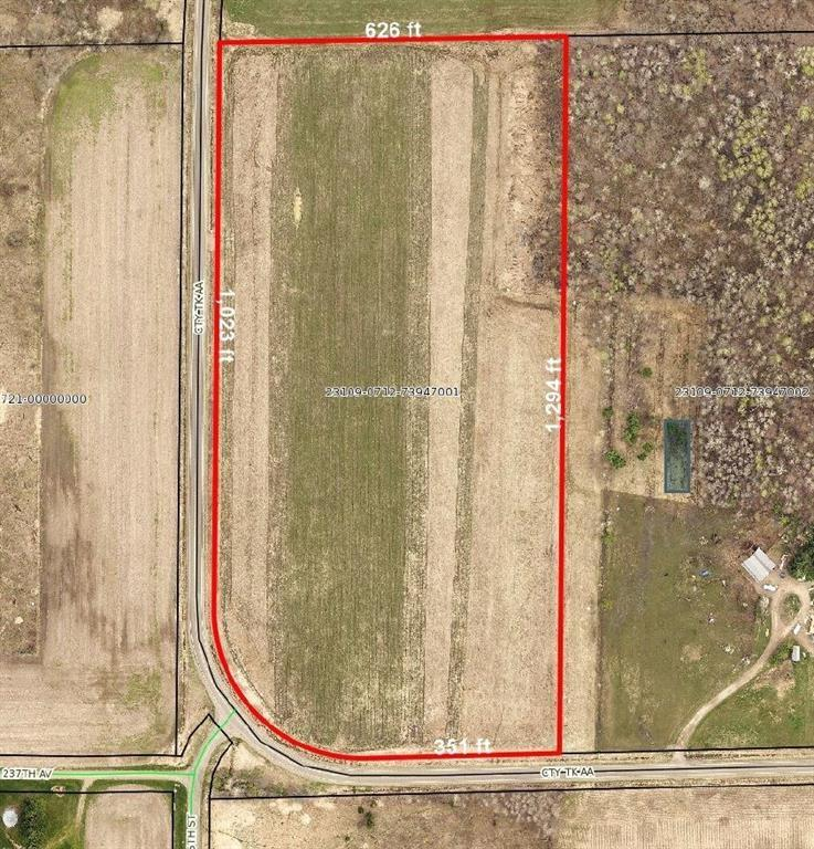 0 Hwy AA Property Photo - Bloomer, WI real estate listing