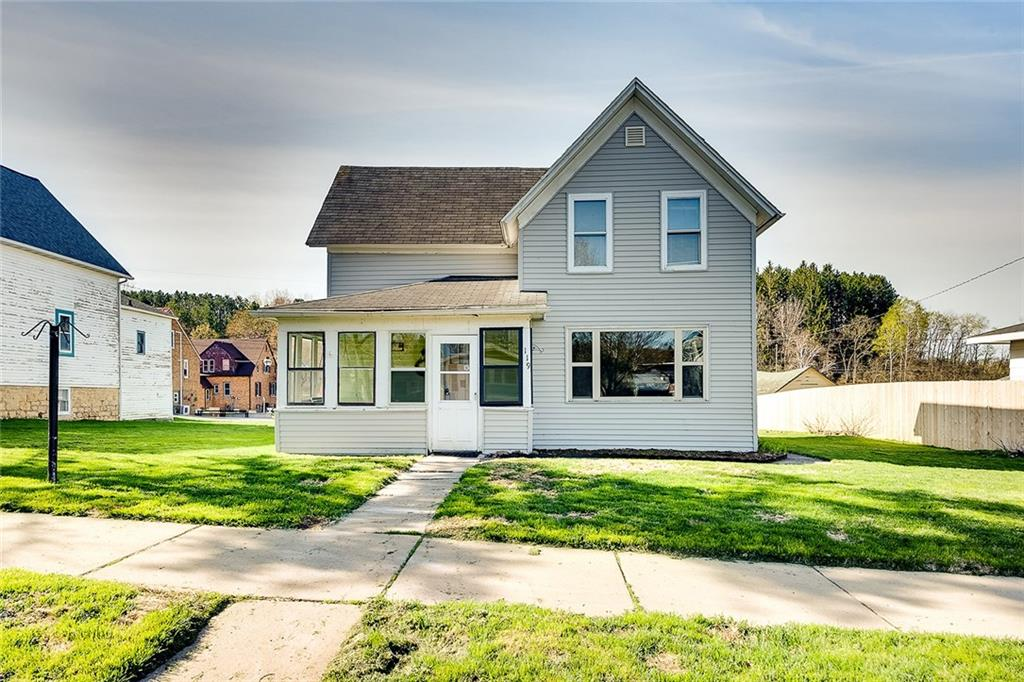 119 Pine Street Property Photo - Glenwood City, WI real estate listing
