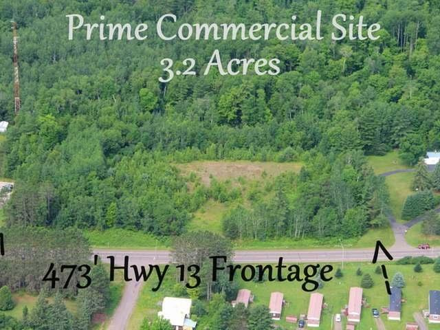 On 13 Highway Property Photo - Fifield, WI real estate listing