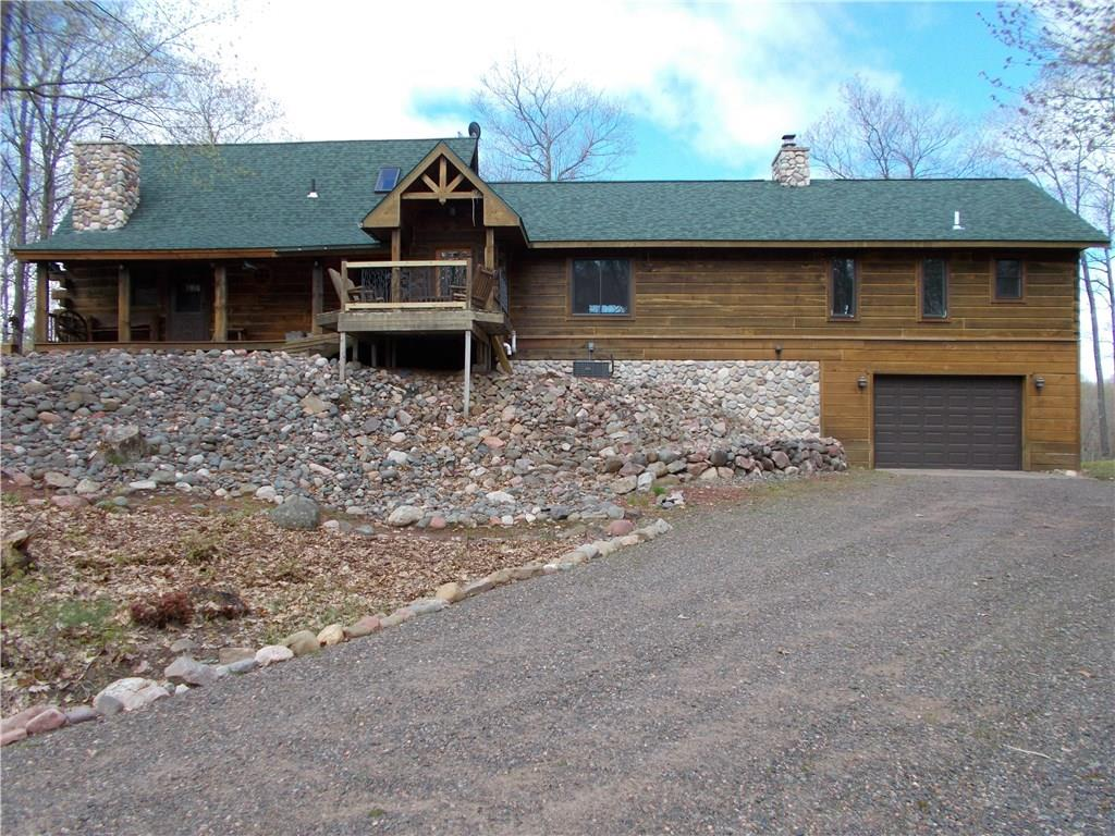 N4381 Badger Road Property Photo - Stone Lake, WI real estate listing