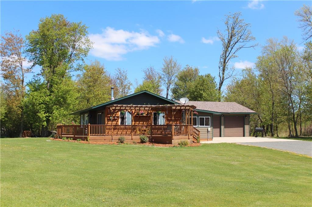 12802 North Road Property Photo - Grantsburg, WI real estate listing