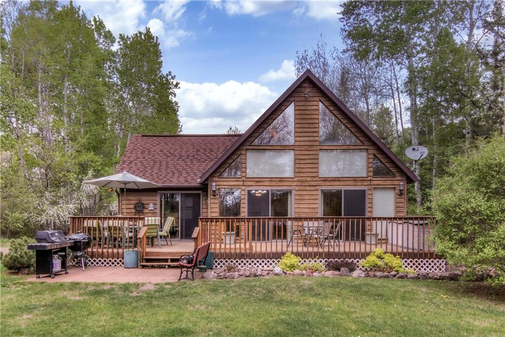 W8119 Sunfish Lake Road Property Photo - Spooner, WI real estate listing