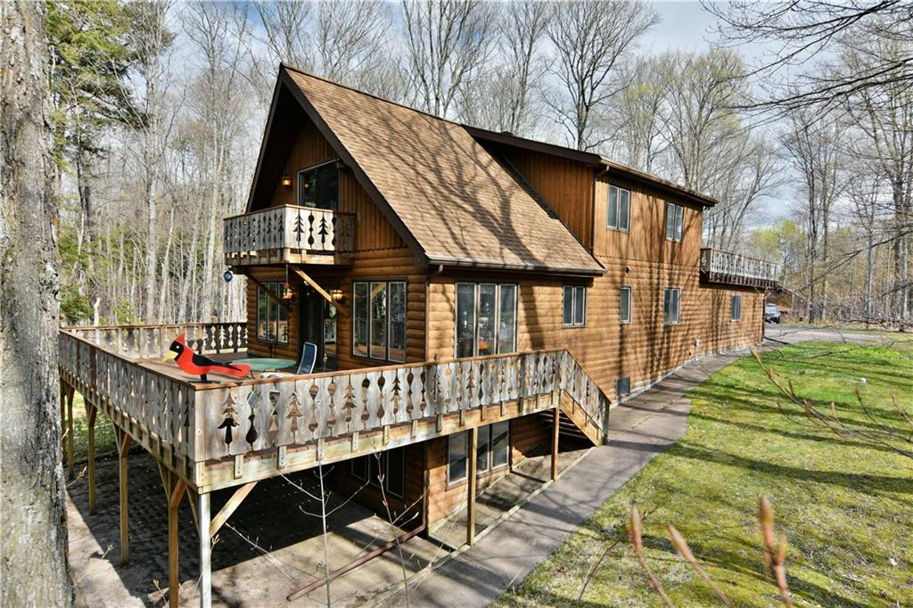 23029 E Stuebe Road Property Photo - Clam Lake, WI real estate listing