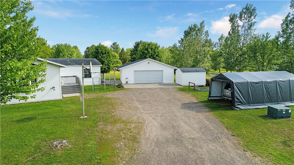 W9302 Golden View Drive Property Photo - Holcombe, WI real estate listing