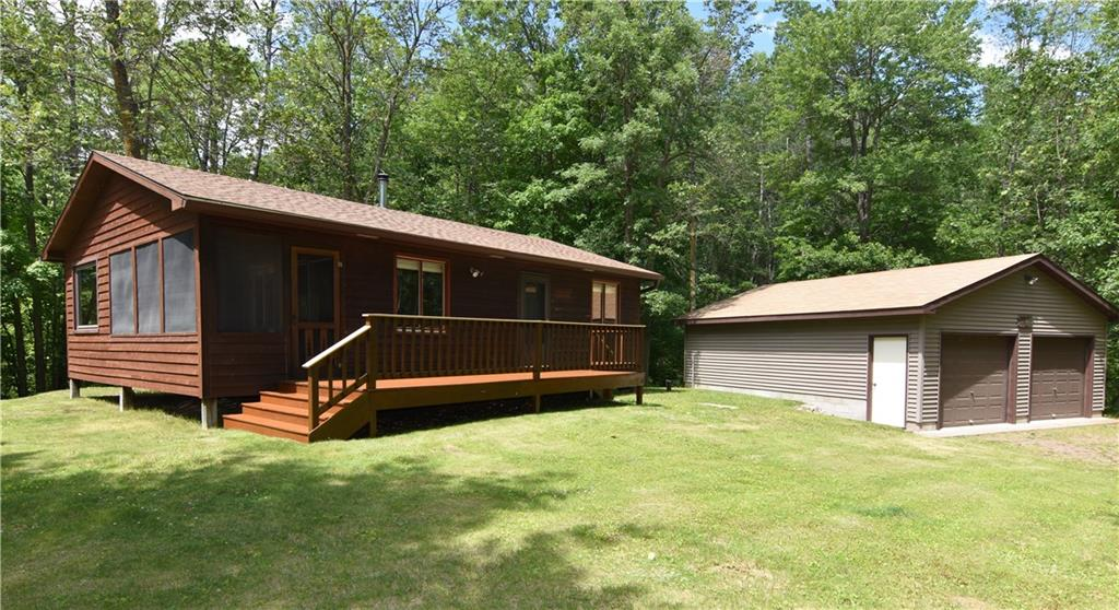 3493 N Farr Road Property Photo - Sarona, WI real estate listing
