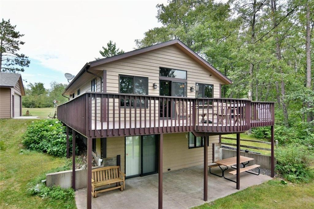 W5983 Ross Road Property Photo - Trego, WI real estate listing