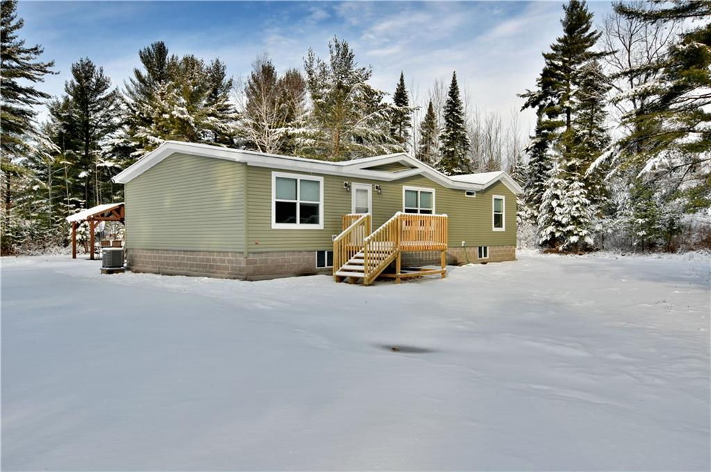 23415 Dezotell Road Property Photo - Clam Lake, WI real estate listing