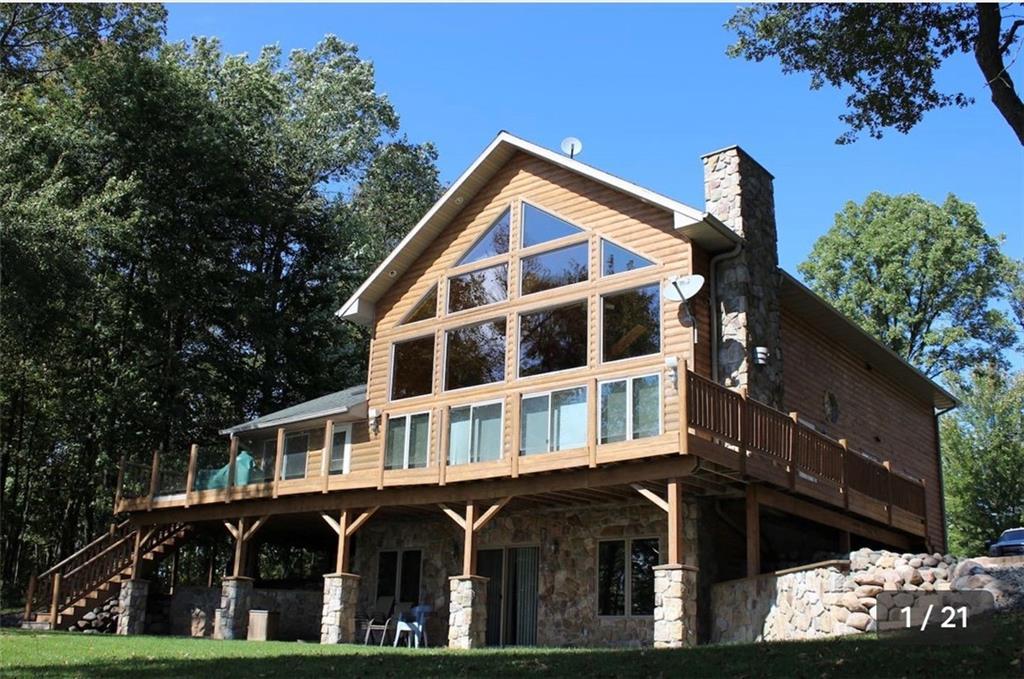 W12629 Fireside Lake Road Property Photo - New Auburn, WI real estate listing