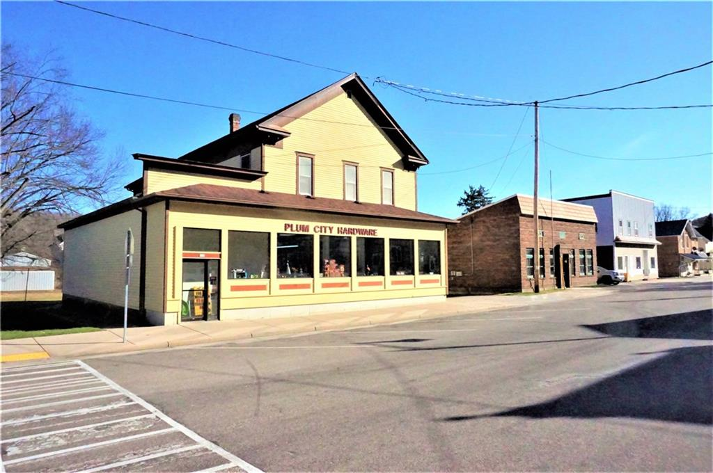 319 & 407 Main Street Property Photo - Plum City, WI real estate listing