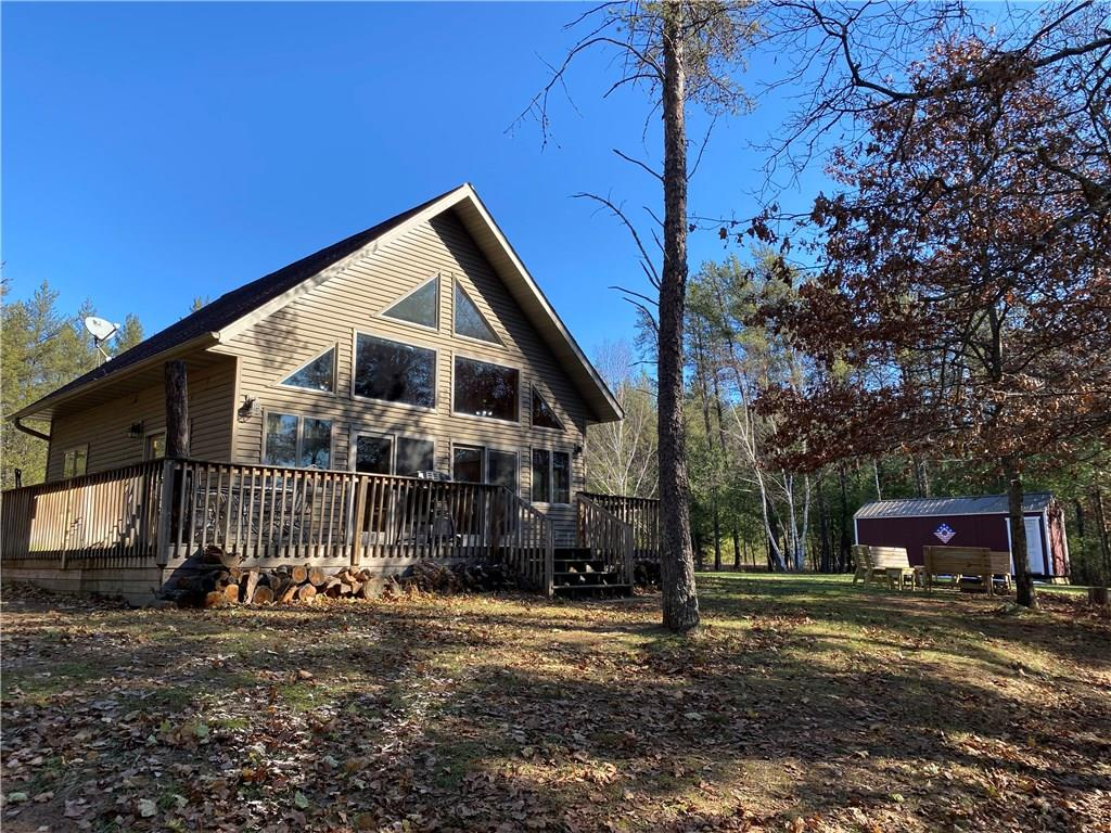 N 7507 Wood Drive Property Photo - Trego, WI real estate listing