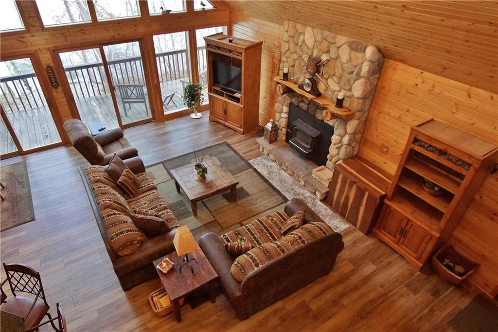 W1915 County Highway B Property Photo - Stone Lake, WI real estate listing