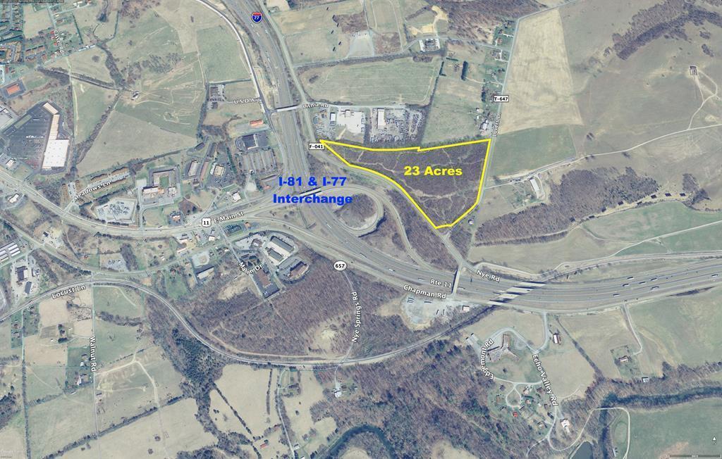 23 Acres Nye Road Property Photo
