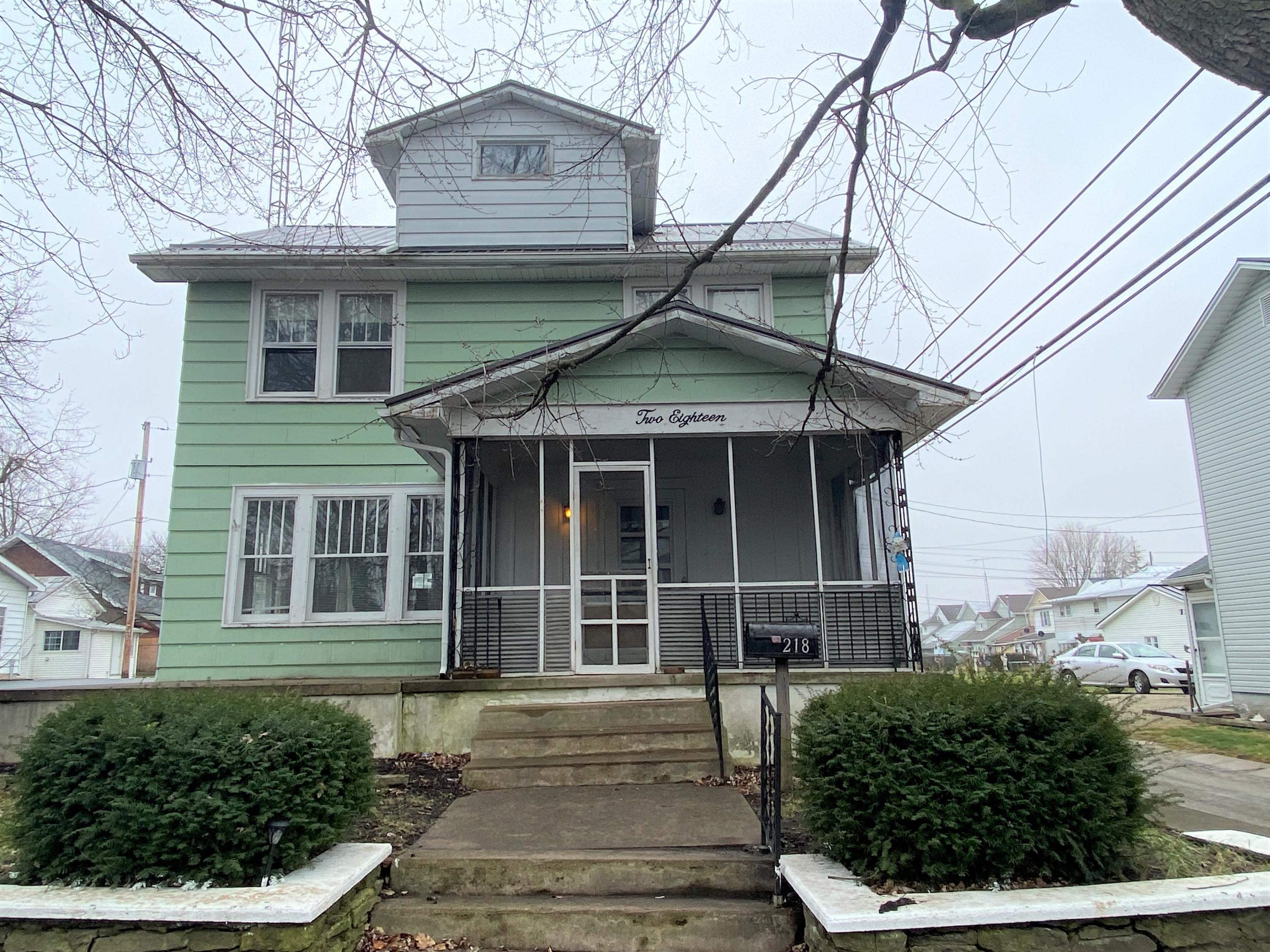 218 Elm Street Property Photo - Greenville, OH real estate listing