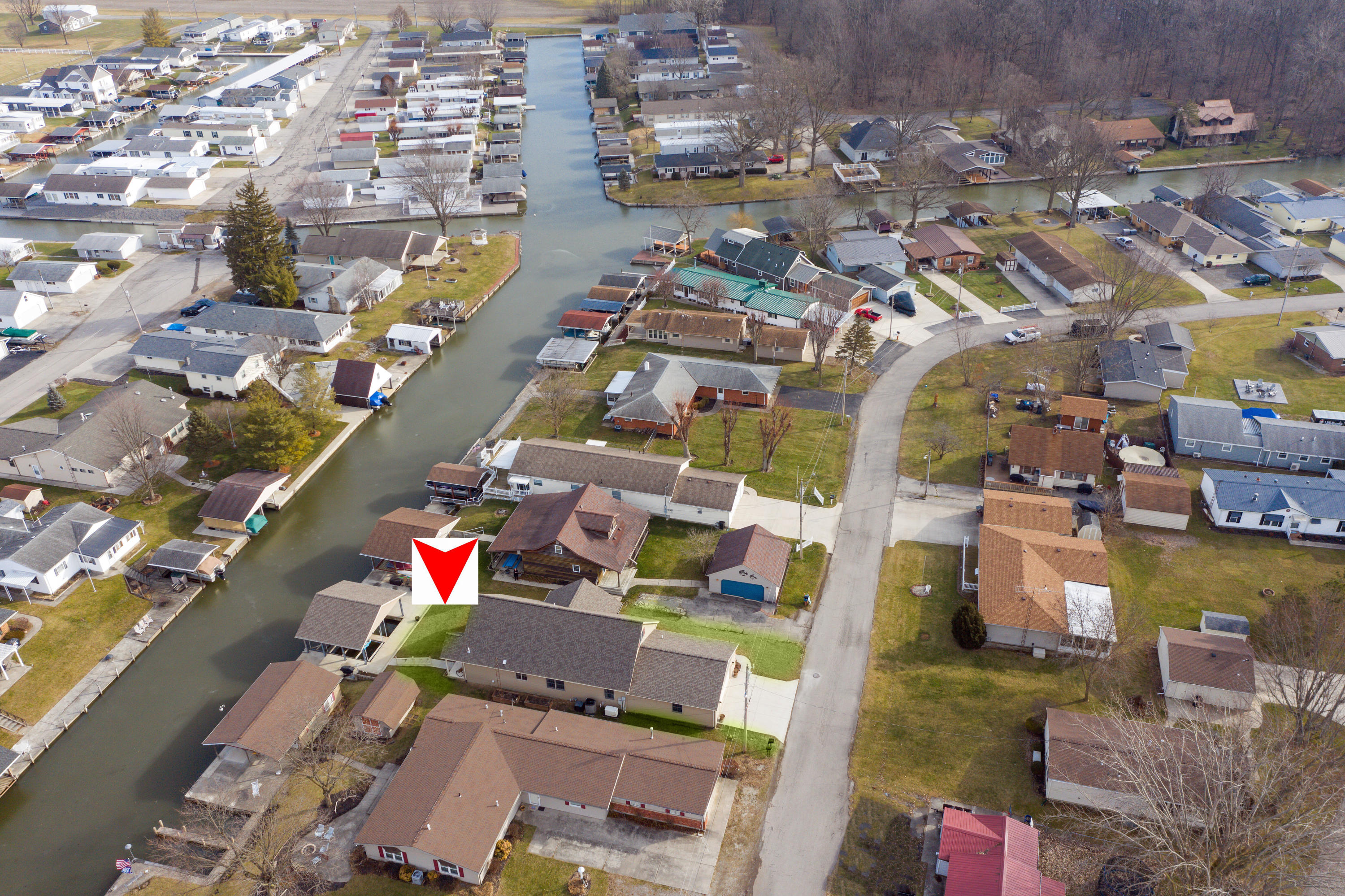 11328 Horseshoe Channel Drive Property Photo - Lakeview, OH real estate listing
