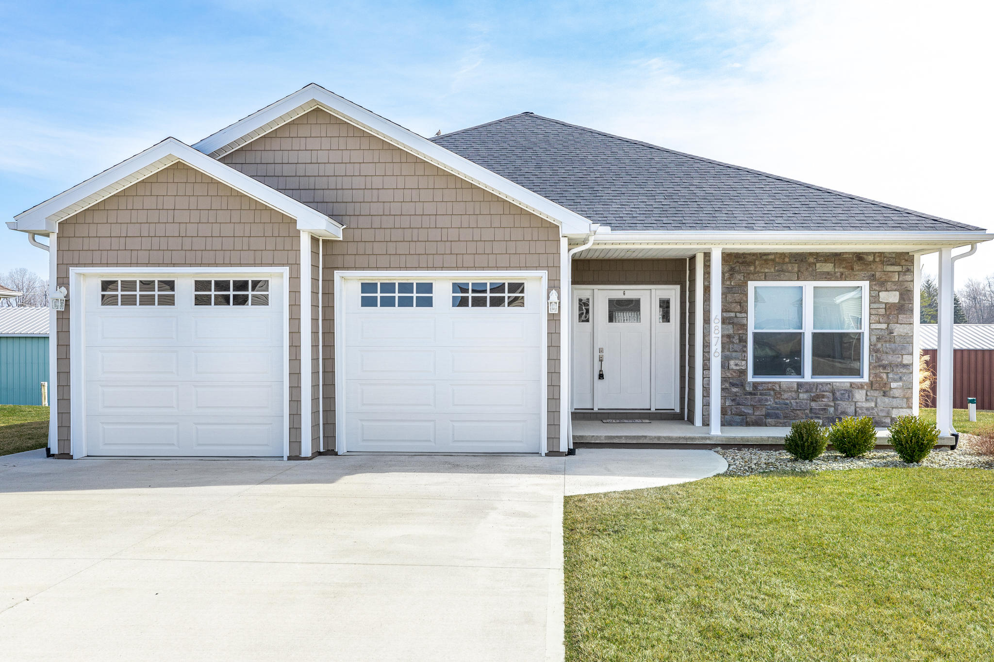 6876 Creekview Court Property Photo - Huntsville, OH real estate listing