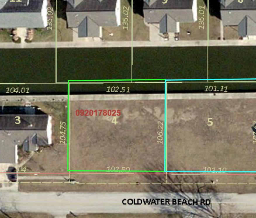 6679 Coldwater Beach Road Property Photo