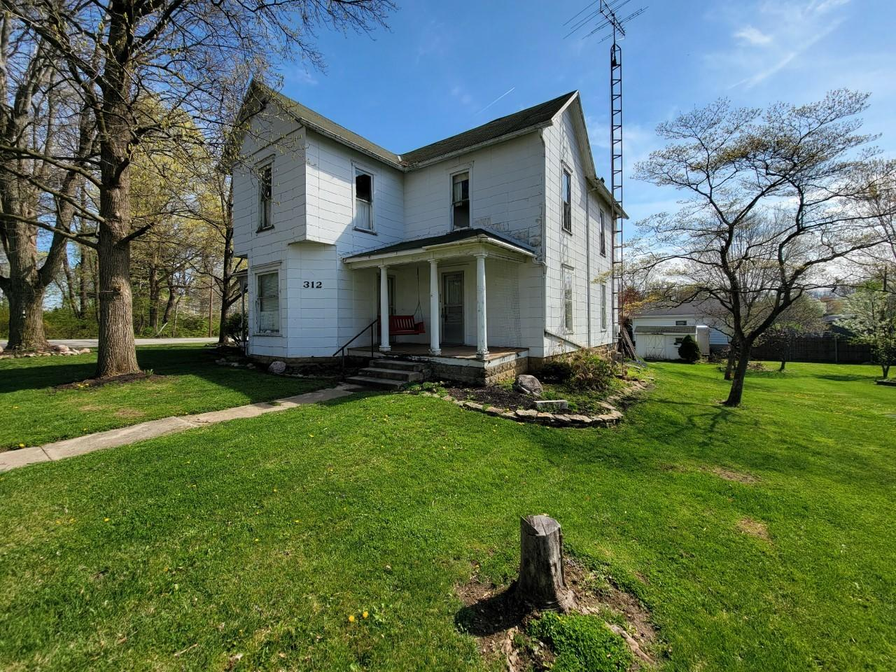 312 Monroe Street Property Photo - Christiansburg, OH real estate listing