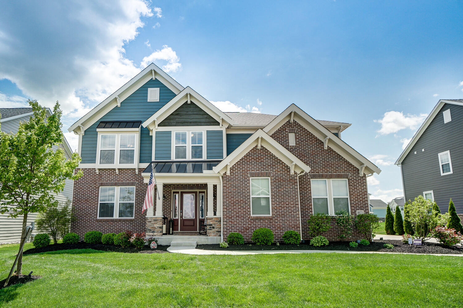 8025 Finch Leaf Drive Property Photo - Plain City, OH real estate listing