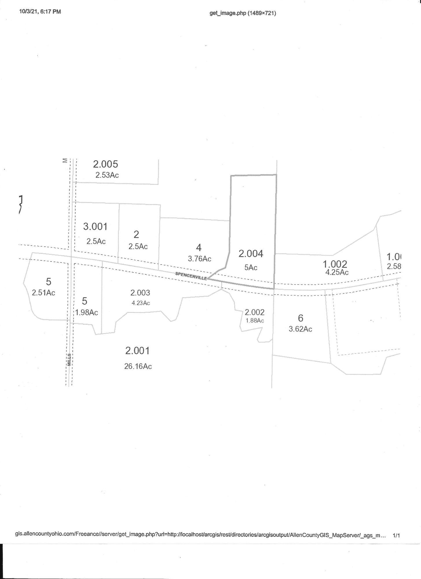 0000 Spencerville Road Property Photo